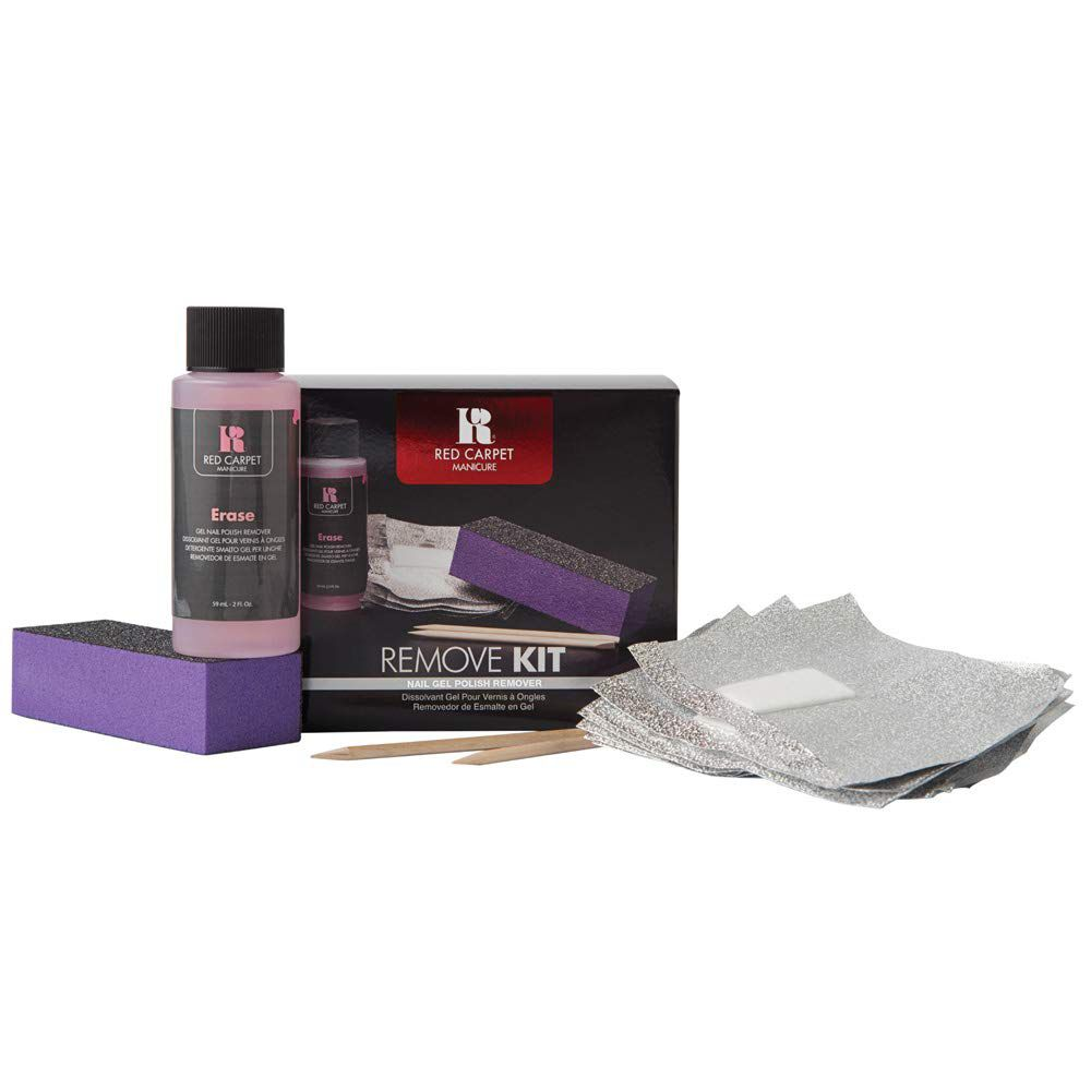 RC Red Carpet Manicure Remove Kit Nail Gel Polish Removal Kit