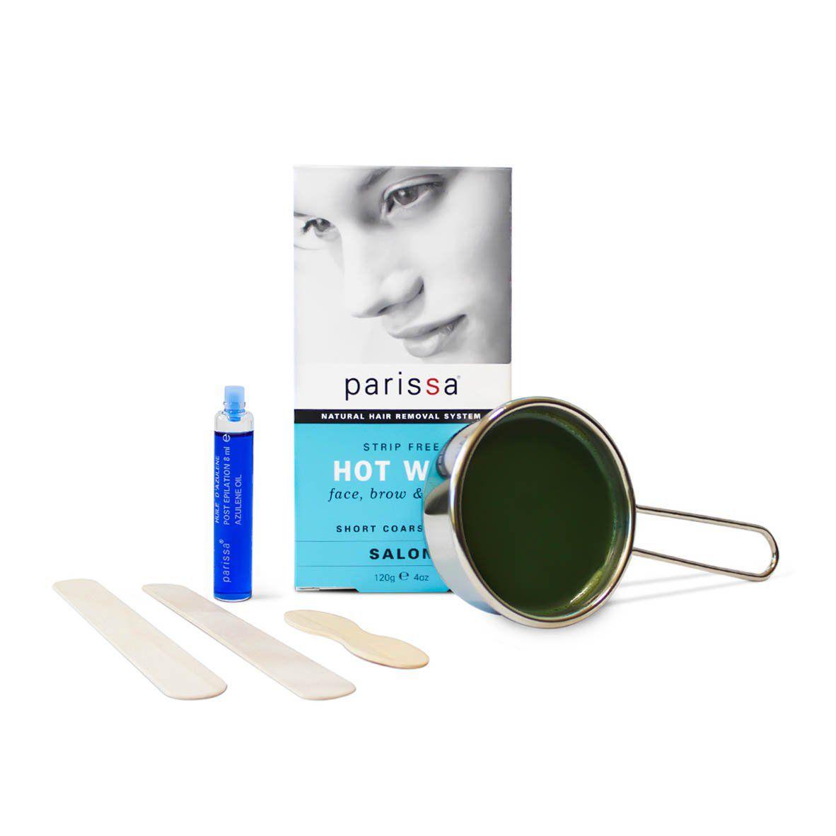 Parissa Hot Wax Strip-Free Natural Hair Removal System