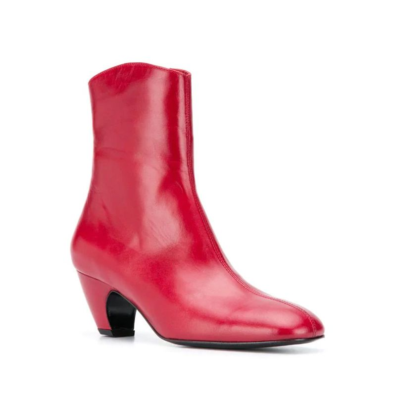 Square Toe 105 Ankle Boots
