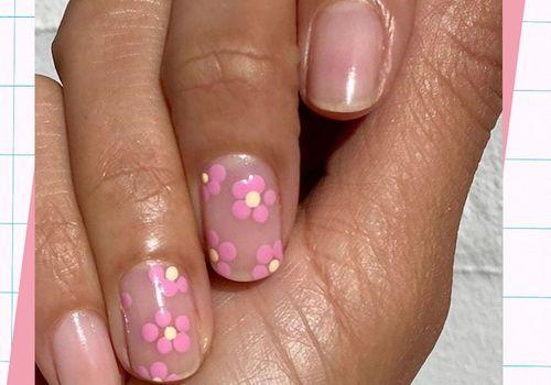 accent nail design