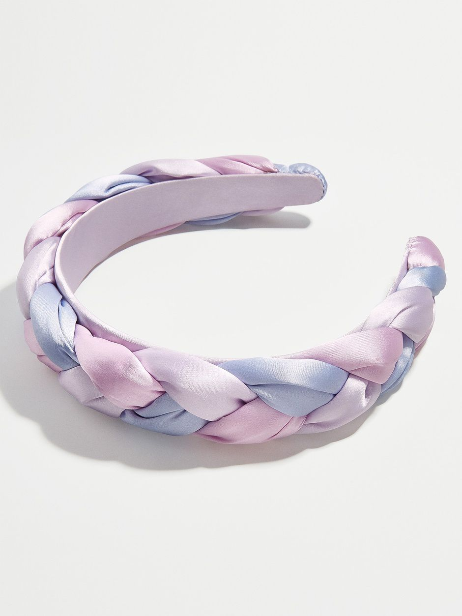 purple headband