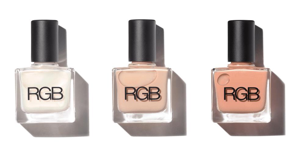 bottles of rgb polish. RGB nail polish