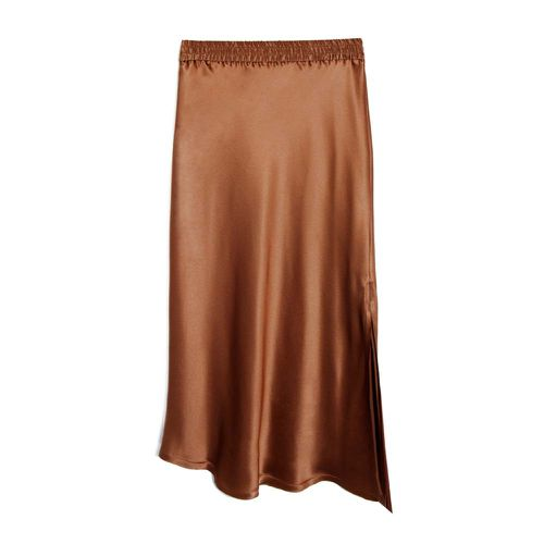 Bias Asymmetric Slit Skirt ($235)