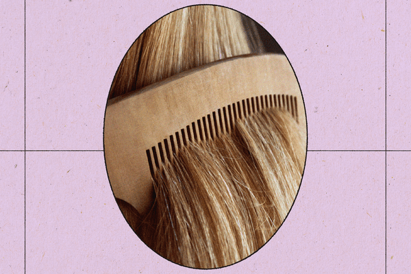 comb in hair
