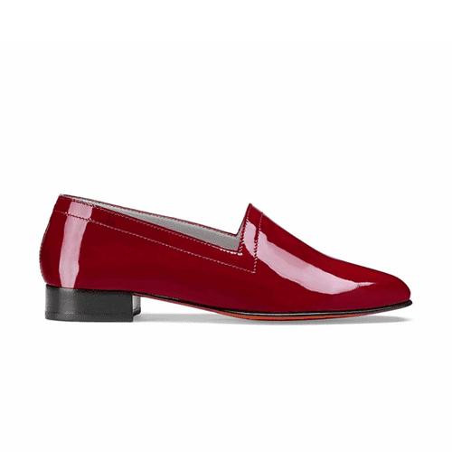 Ops & Ops No. 11 Crimson Patent Block Heels