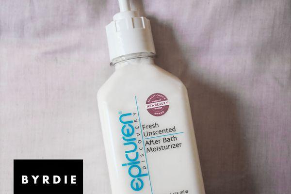 epicuren discovery after bath body moisturizer
