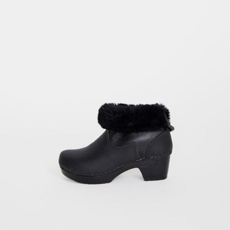 Shearling Clog Boot
