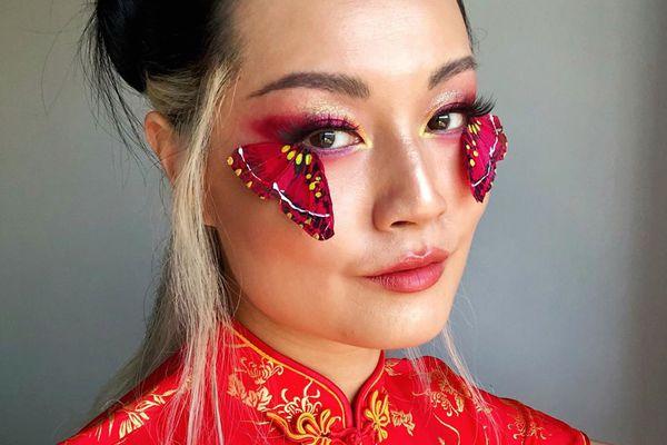 Butterfly Makeup Look