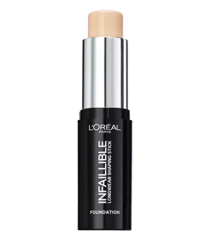 Best drugstore foundation for pale skin: L'Oreal Paris Infallible Shaping Stick Foundation