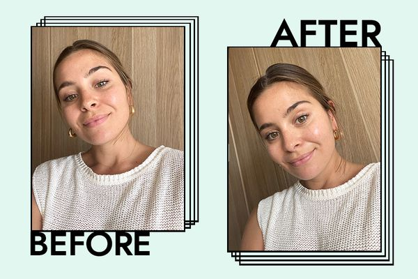 Dermalogica Dynamic Skin Recovery SPF 50 Results on Emily Algar