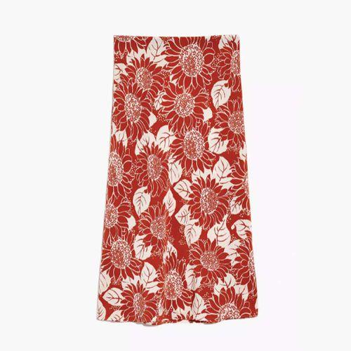 Silk Midi Slip Skirt ($88.50)