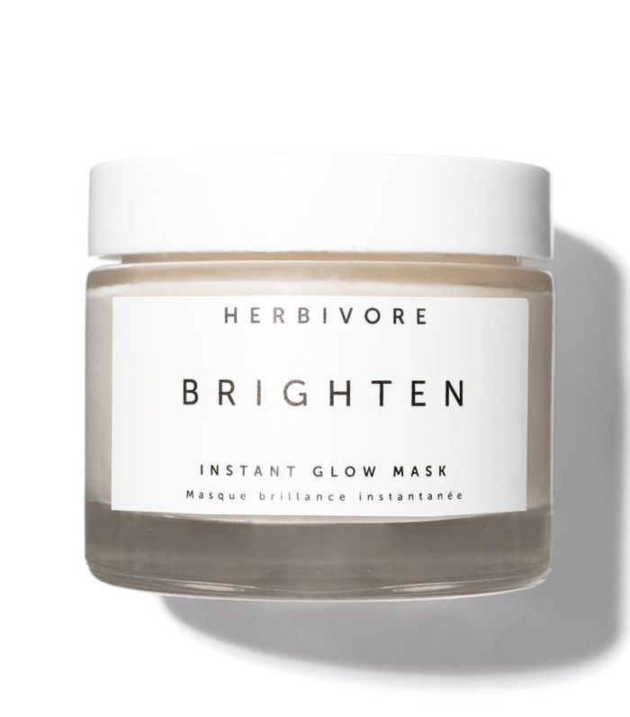 Best Crystal Beauty Products: Herbivore Brighten Instant Glow Mask