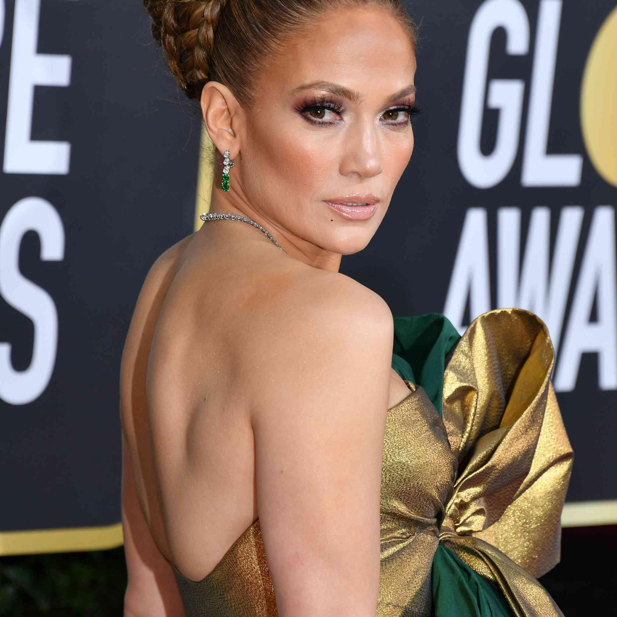 Jennifer Lopez Prom Hair