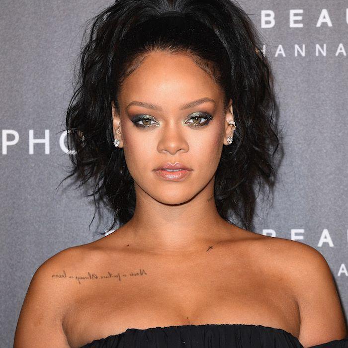 Rihanna-Fenty Beauty red carpet
