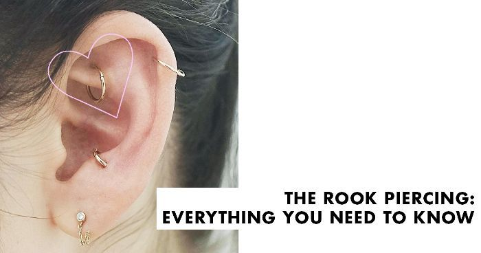 Ear Piercing Diagram Pain.Rook Piercing 101 Everything You Need To Know