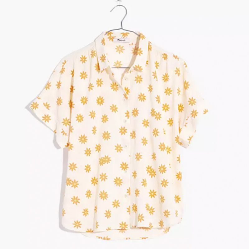 Hilltop Shirt in Daisy Groove