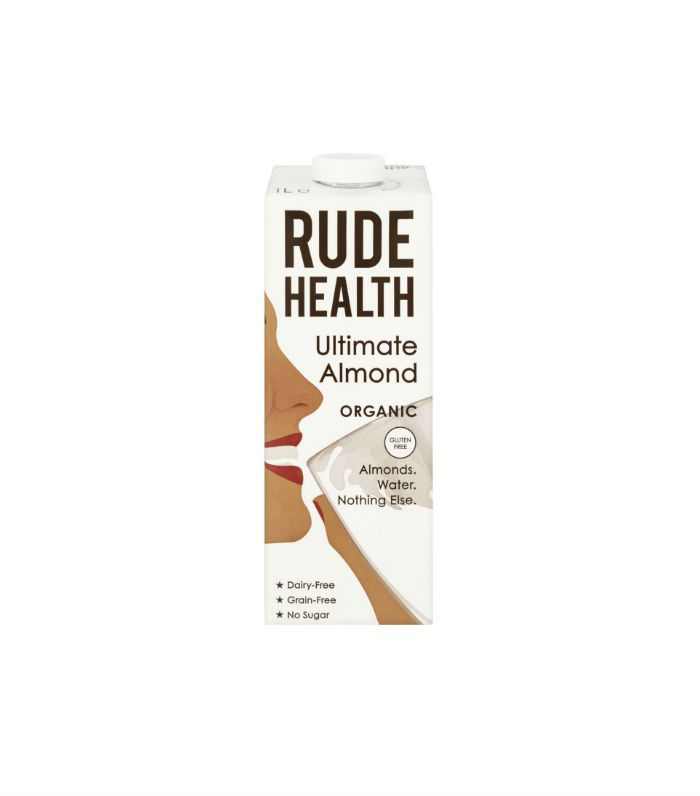 Best milk alternatives: Rude Health Ultimate Almond Organic