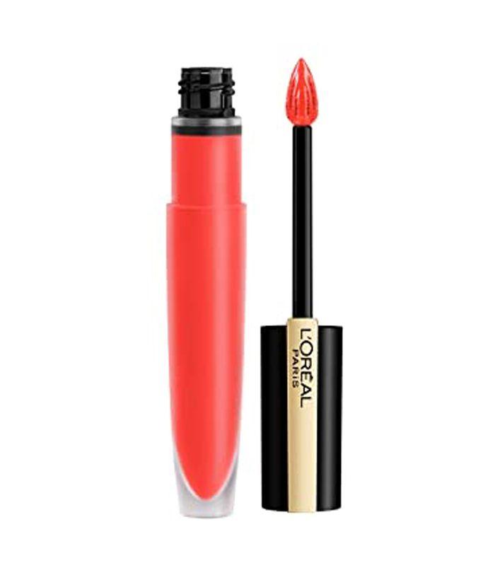 L'Oreal orange lips
