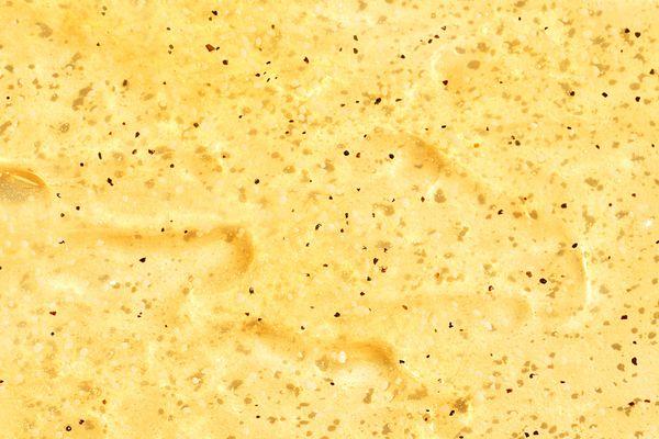 chia seed oil scrub