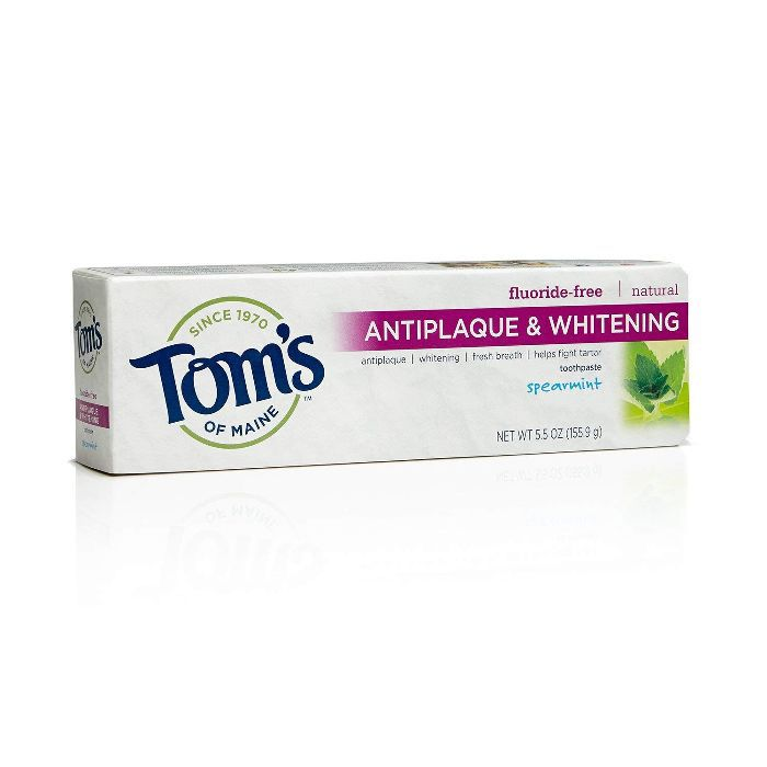Tom's of Maine Antiplaque and Whitening Natural Toothpaste