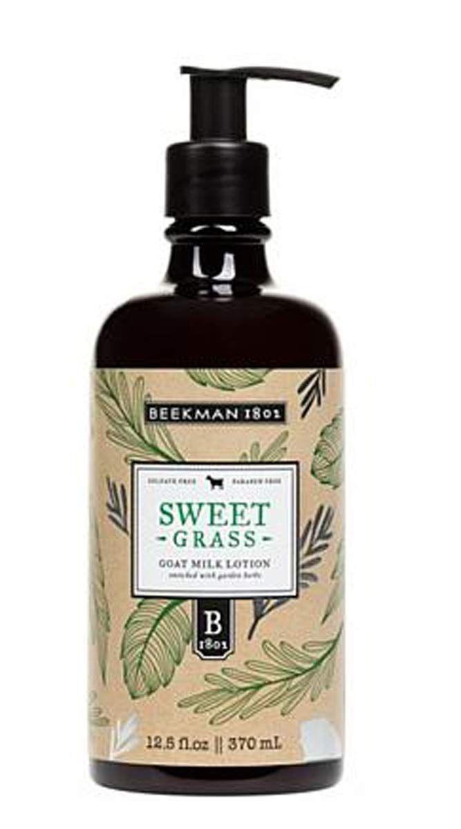 sweetgrass goat milk lotion