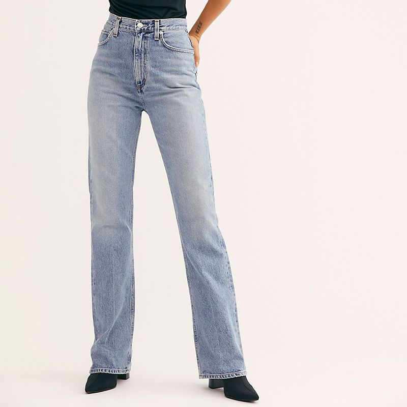 Vintage High-Rise Flare Jeans