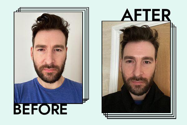Tatcha Silken Pore Perfecting Sunscreen Results on Bryan Levandowski