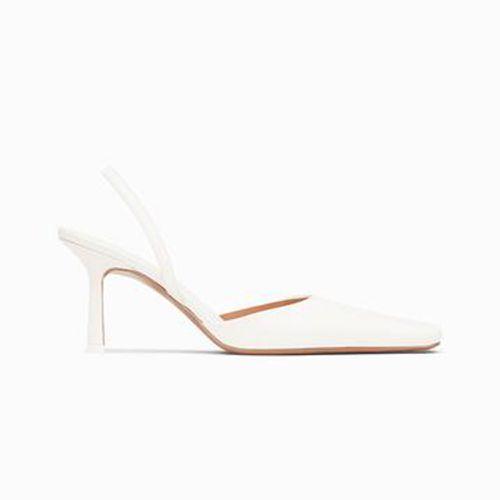 Neous Dracu White Heels