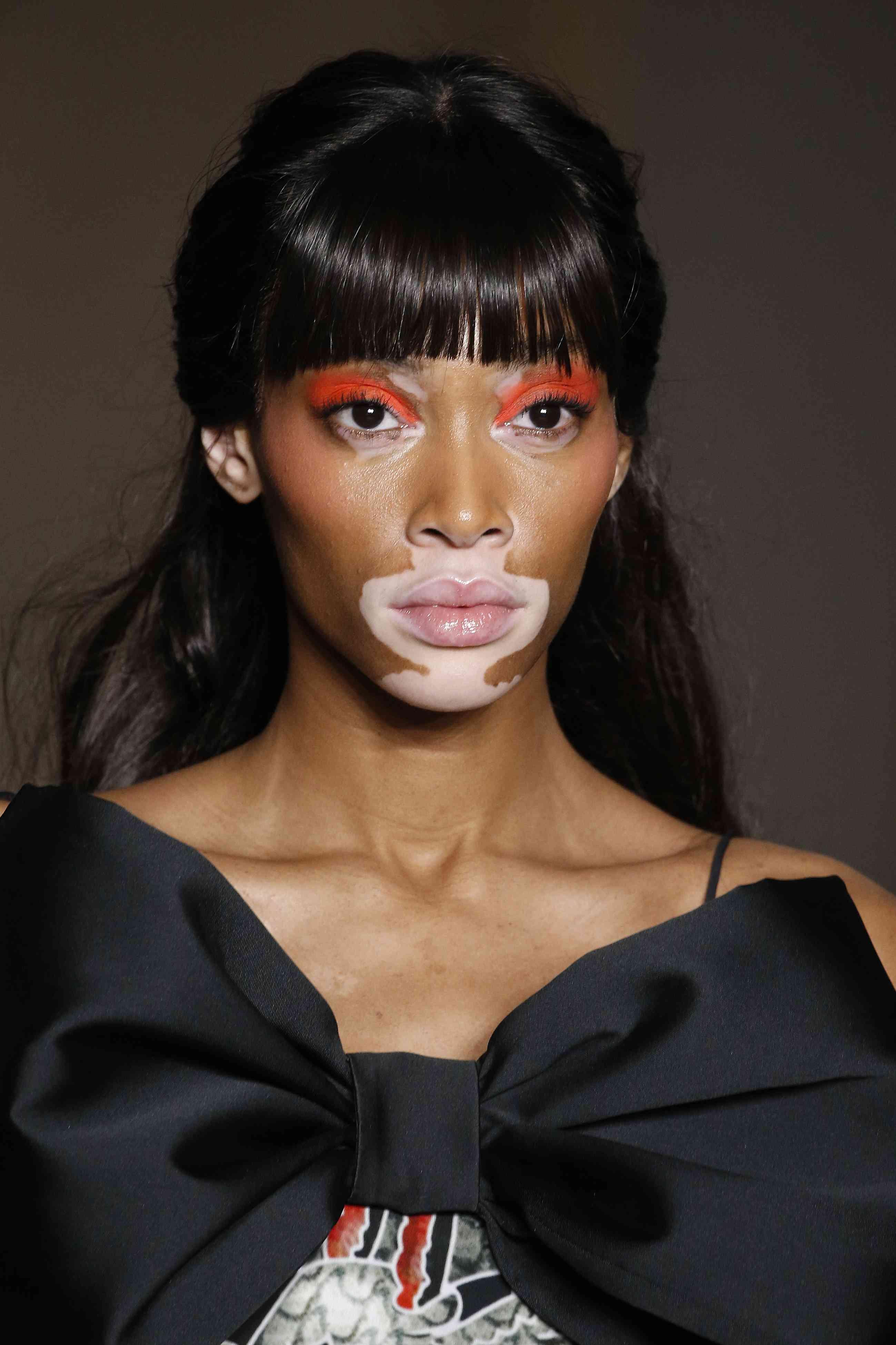 Winnie Harlow - Orange Eyeshadow