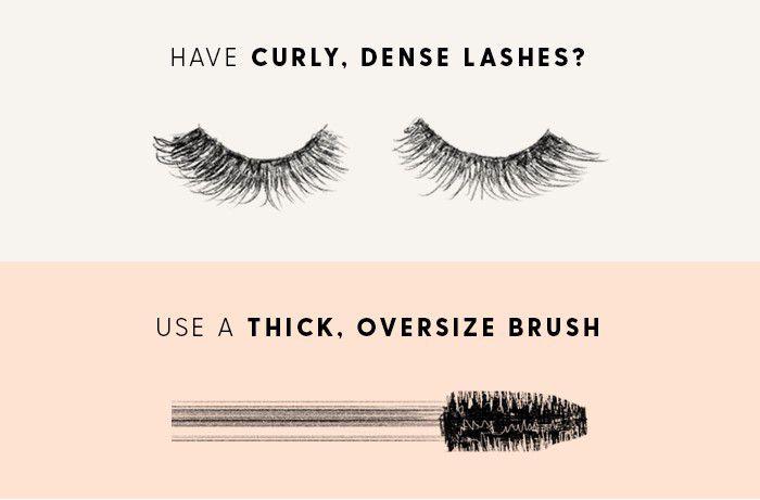 Thick, oversized brush