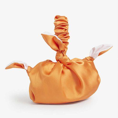 Roop Upcycled Furoshiki Satin Bag