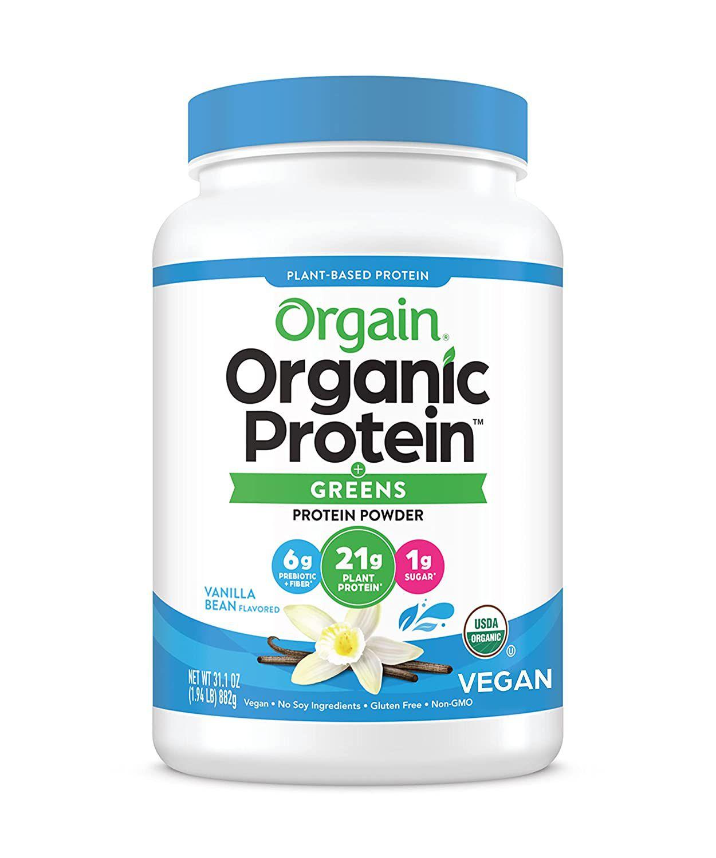 Orgain Organic Plant Based Protein & Greens Powder