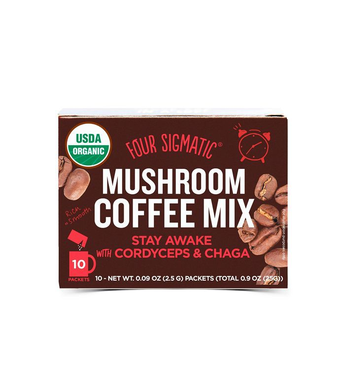 healthy coffee boosters: mushrooms
