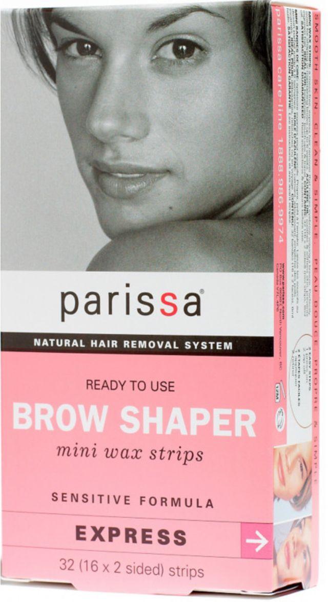 Parissa Brow Shaper Mini Wax Strips