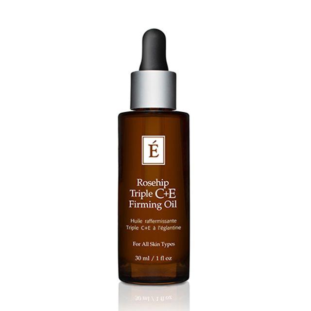 eminence organic skin care rosehip triple c+e firming oil