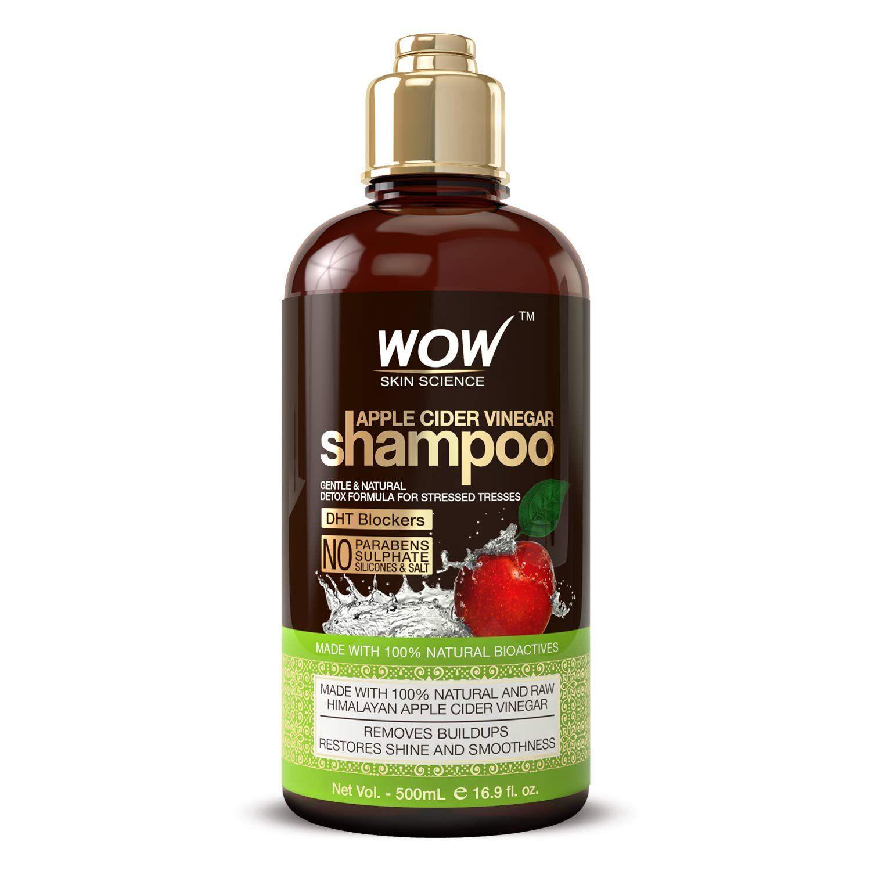 Wow Skin Science Apple Cider Vinegar Shampoo
