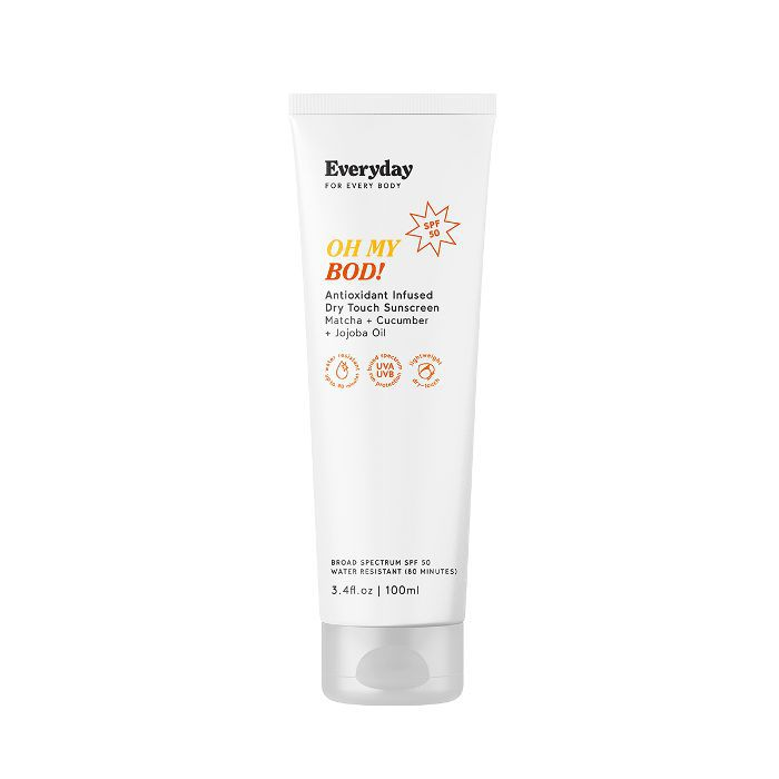 Everyday For Every Body Oh My Bod! SPF50 Antioxidant Infused Dry Touch Sunscreen