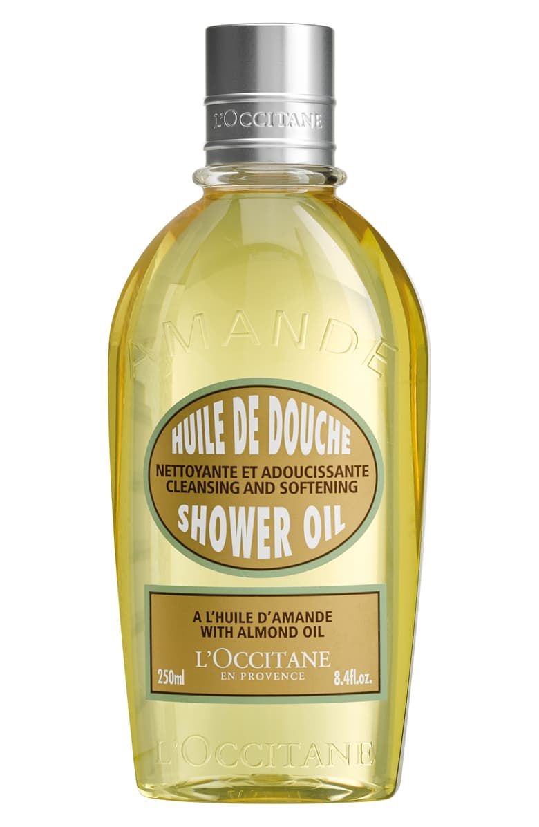 Cleansing And Softening Shower Oil With Almond Oil