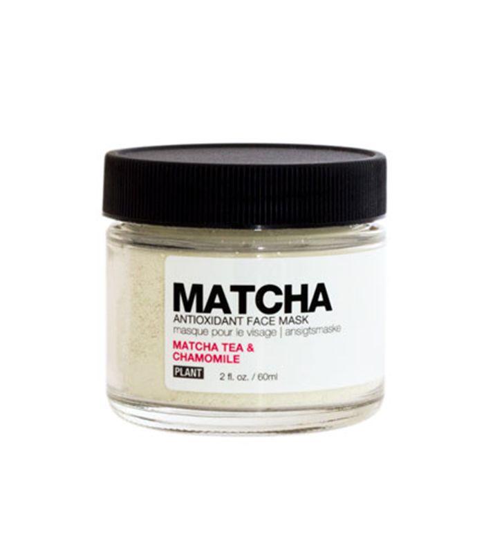 Plant Matcha Antioxidant Face Mask