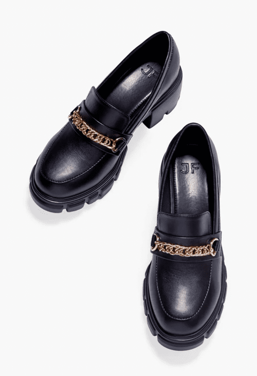 Ayesha Curry for JustFab black loafers