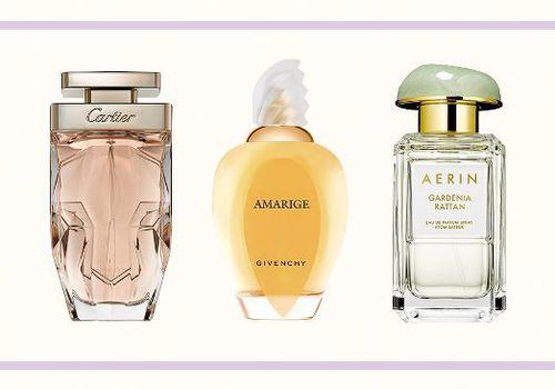 Cartier, Givenchy, Aerin fragrances