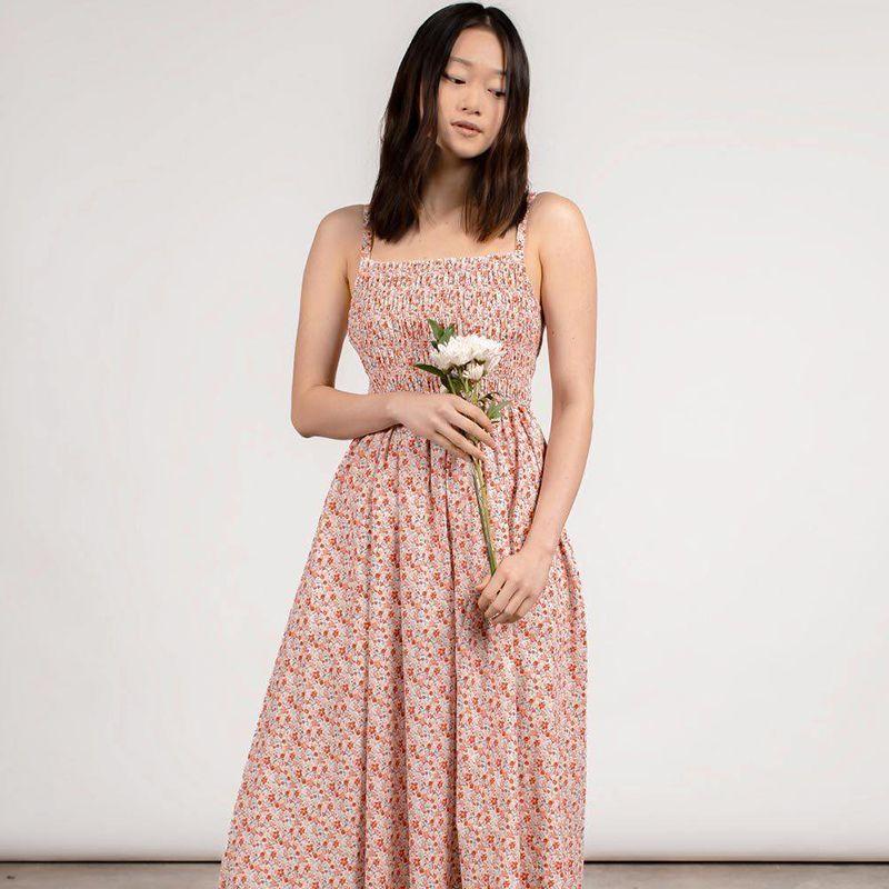Mauby Romantic Poplin Dress