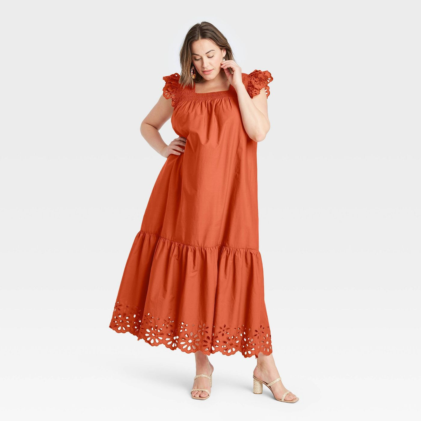 A New Day Flutter Sleeveless Dress