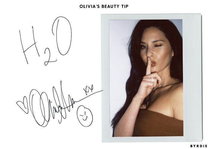 Olivia Munn Beauty Tip