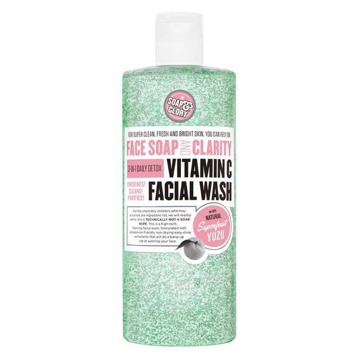 Soap & Glory Face Soap and Clarity 3-in-1 Daily Vitamin C Facial Wash