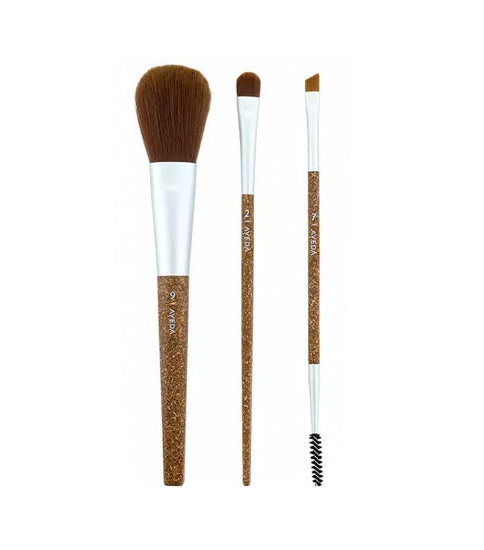 Aveda Flax Sticks Daily Effects Brush Set - vegan makeup brushes