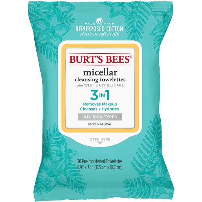 Burt's Bees Micellar Cleansing Towlettes