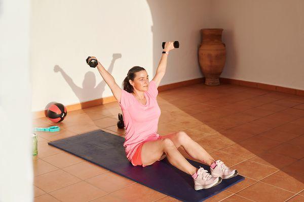 Dumbbells Full Body Workout