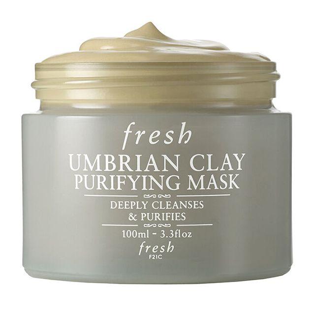 fresh umbrian clay mask