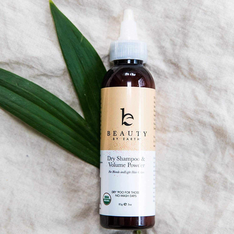 Beauty by Earth Organic Dry Shampoo Powder